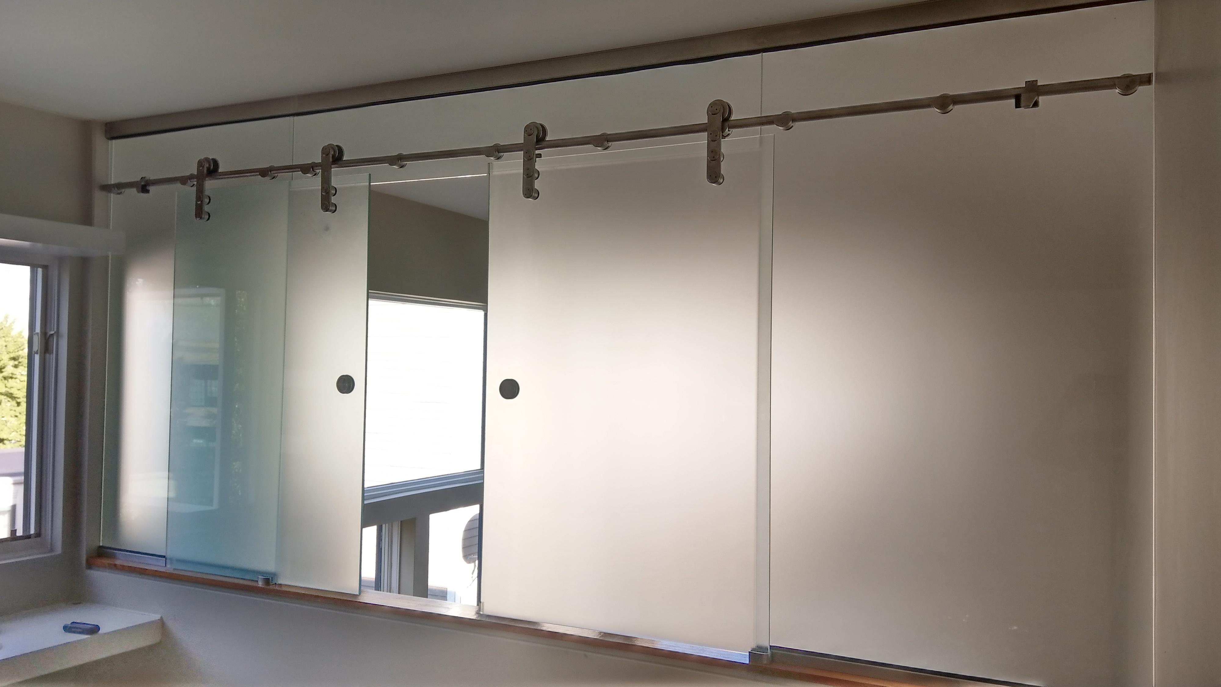 Glass Partion Doors